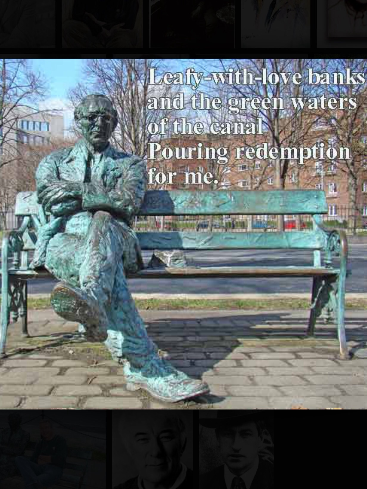 the essential patrick kavanagh essay Short theme: patrick kavanagh is remembering his mother as she was when she was alivethe picture he paints of her is a tender and loving portrait full of variety and strengthshe is and always will be a living presance in his life.