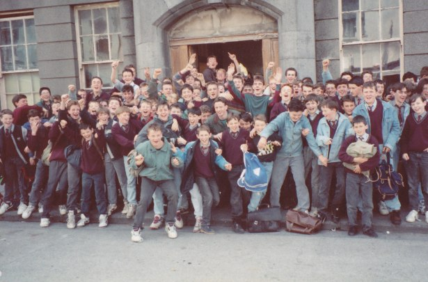 Last Day in St. Ita's - Friday 29th. May, 1992