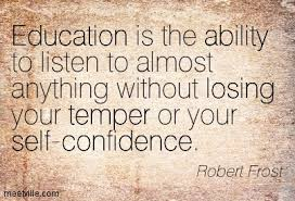 education by poetry robert frost analysis