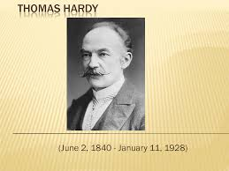 An Analysis of the Poetry of Thomas Hardy (1840 - 1928) (2/4)