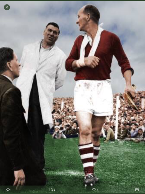 Mick Mackey and Christy Ring