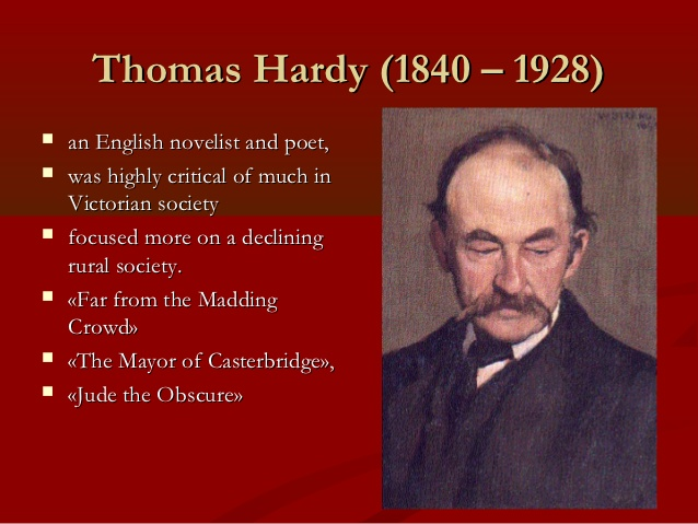 An Analysis of the Poetry of Thomas Hardy (1840 - 1928) (1/4)