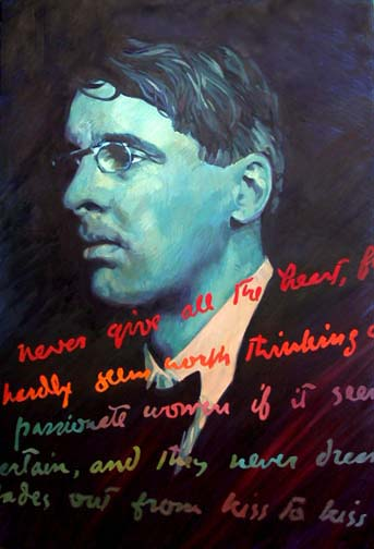 Public and private in poetry by yeats?