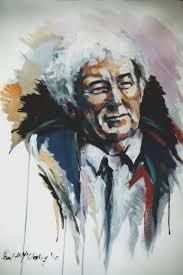 Portrait of Seamus Heaney by Paul McCloskey. (www.paulmccloskeyart.com)