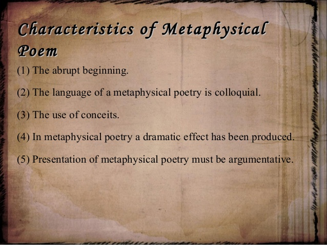 An Introduction to Metaphysical Poetry (2/3)