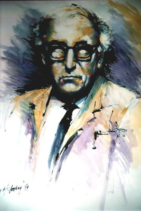 Patrick Kavanagh by Paul McCloskey