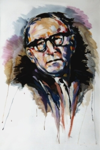 Another portrait of Kavanagh by Paul McCloskey. www.paulmccloskeyart.com