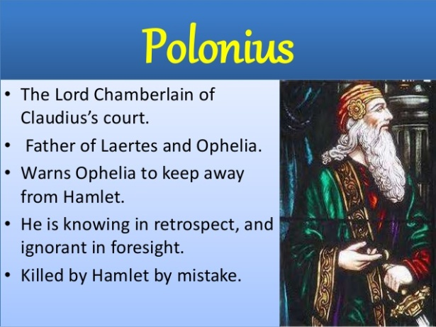 a critical analysis on the character and symbolism of polonius Character list plot overview how to write literary analysis polonius - a member of the danish court and adviser to claudius.