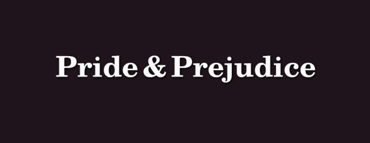 essays pride and prejudice first impressions Pride and prejudice is the most suitable title for this novel because it directly relates to the relationship between the two most important characters, whereas first impressions only connects to elizabeth's prejudiced attitude towards others.