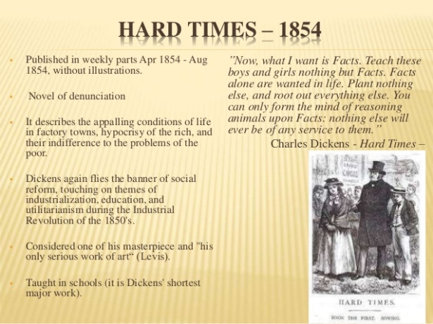 An analysis of the structure of hard times by charles dickens